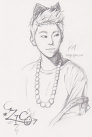 ZICO of Block-B by Kkun-Ga