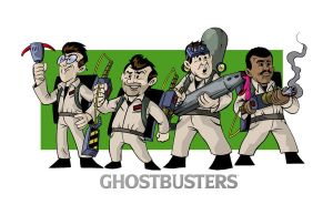 Ghostbusters: Cartoonized by anthonymarques