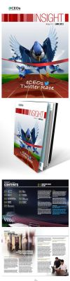 Insight #12 - Newsletter Layout Design by AimanMD
