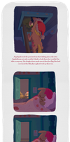 To Applebloom, From Santa Hooves page 2 by WizardWannabe