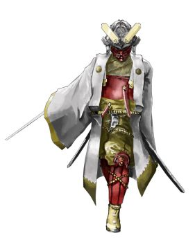 Feudal Japan Concept 1 by roninfang