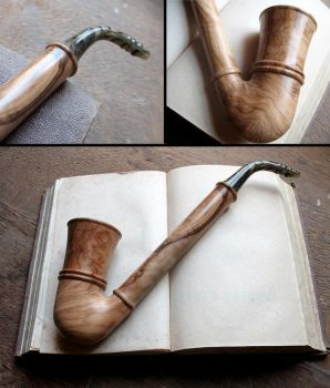 Fili's pipe olive wood version by HouseOfLostPlay
