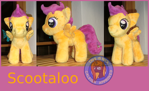 Scootaloo Plush by Caleighs-World