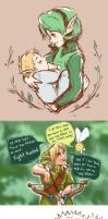 Zelda dump by bossbetch