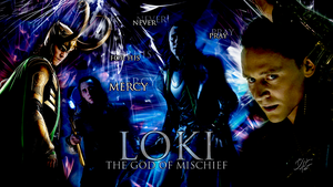 Loki wallpaper #1 by IceFloe-ArtSoul