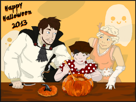 happy halloween by lanagon39