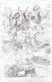 Marvel sample pencils page 2 by Dave-Acosta