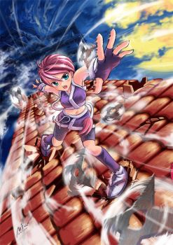 Ninja girl by garun