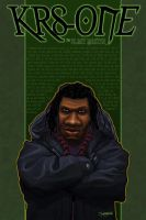 KRS-ONE, Blastmaster. by RC-draws