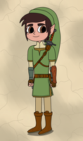 Marco Diaz as Link for Twilight Princess by Deaf-Machbot