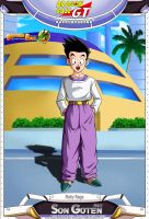 Dragon Ball GT - Son Goten by DBCProject