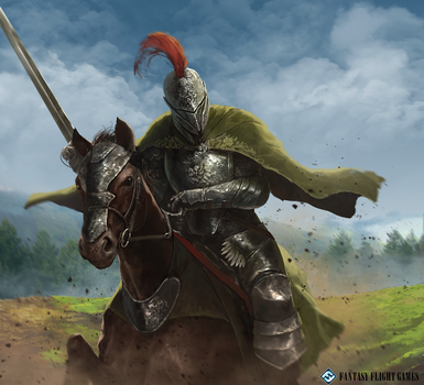 KnightoftheReach - Mid2016 Works 5 by TSRodriguez
