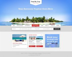 Travel Company WordPress Theme by prkdeviant