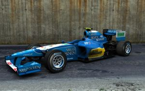 Benetton Renault 2011 by motionmedia