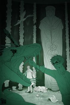 The Chamber of Secrets by palnk
