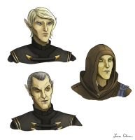 Three Altmer by LMColver
