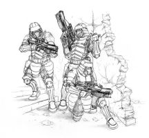 3soldats by hydriss28