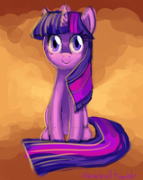 Hello My Name Is Twilight Sparkle by Mewball