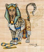 the Pharaoh by PookaWitch