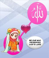 Allah loves you -2 by Nayzak