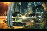 Night Cabs by Pajunen