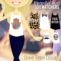 Ropa para Dolls (Pack3OOWatchers) by iHeartBelieber