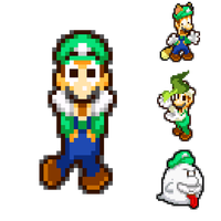 Luigi and his Powerup Forms by HeiseiGoji91