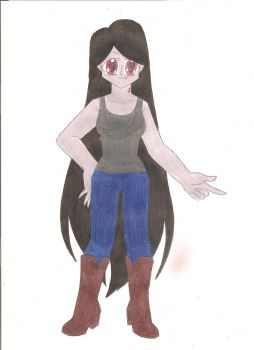 Marceline the Vampire Queen by animequeen20012003