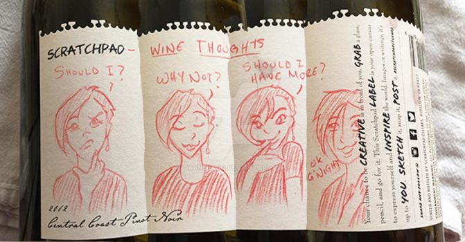 Wine Thoughts by DarneLang