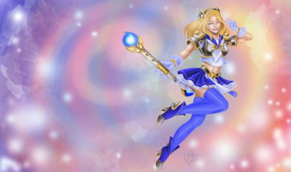 Magical Girl Lux_Edit by Toffee-bar