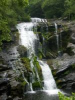 Tennessee waterfall by Demonchica