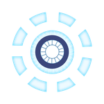 Arc Reactor Mark II T-Shirt Print by Daniela-Chris