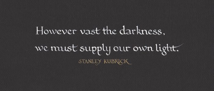 Stanley Kubrick - Darkness and Light by MShades