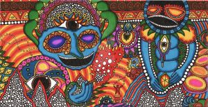 Gods of the Psychedelic Sun by Eccentric-Aquarius