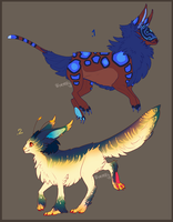 TWO FLUFFY ADOPTABLES AUCTION - nr 1 open by Wyrmin