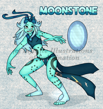 ADOPT Moonstone {OPEN - SEE DESC. FOR INFO} by I3-byUsagi
