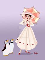 Mary Poppins by buttercupLF