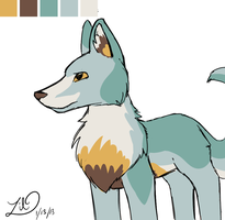 Wolf Design by myheartyoung