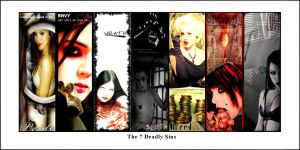 7 Deadly Sins by mailorderchild