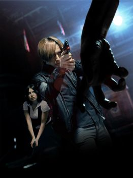 Resident Evil 6 Poster - Cosplay Version by Akiba91