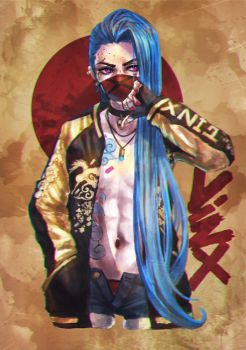 Monday Doodles - Delinquent Jinx by MonoriRogue