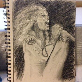 Steven Tyler Portrait by PaintedLiLy