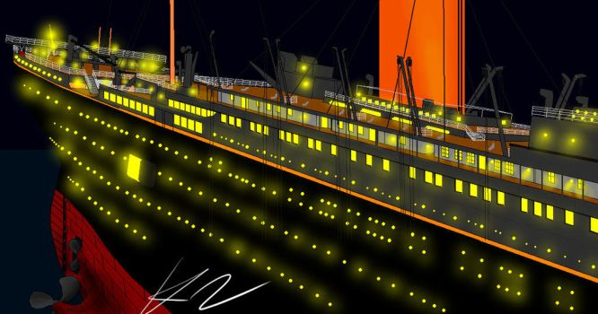 Titanic by Admiral-Kevin