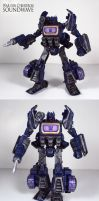War for Cybertron Soundwave by Unicron9