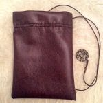 Aiwendil Leather Pouch 3 by AsliBayrak
