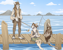 Fishing by Blackpassion777
