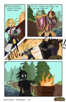 LoL Comic Contest: Lux and Leona by FarahBoom