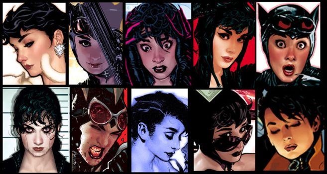 The Many Faces of Selina Kyle by AdamHughes
