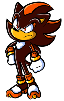 SAI Doodle - Shadow the Hedgehog by JamesmanTheRegenold