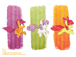 Silly Fillies by Radioactive-K